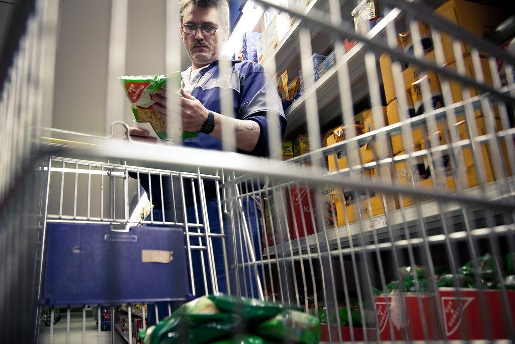 Supermarket in prison