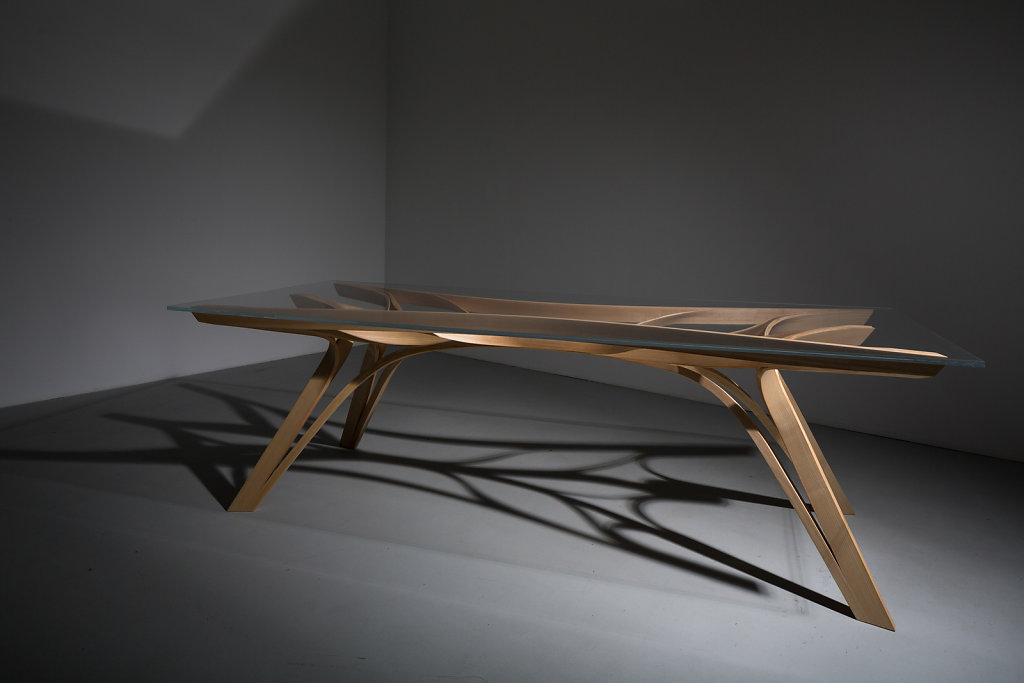 Table by Jon Lister.