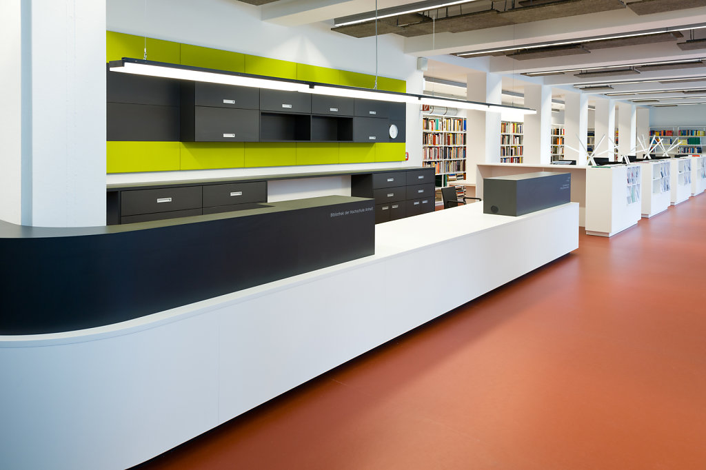 Library, Dessau.