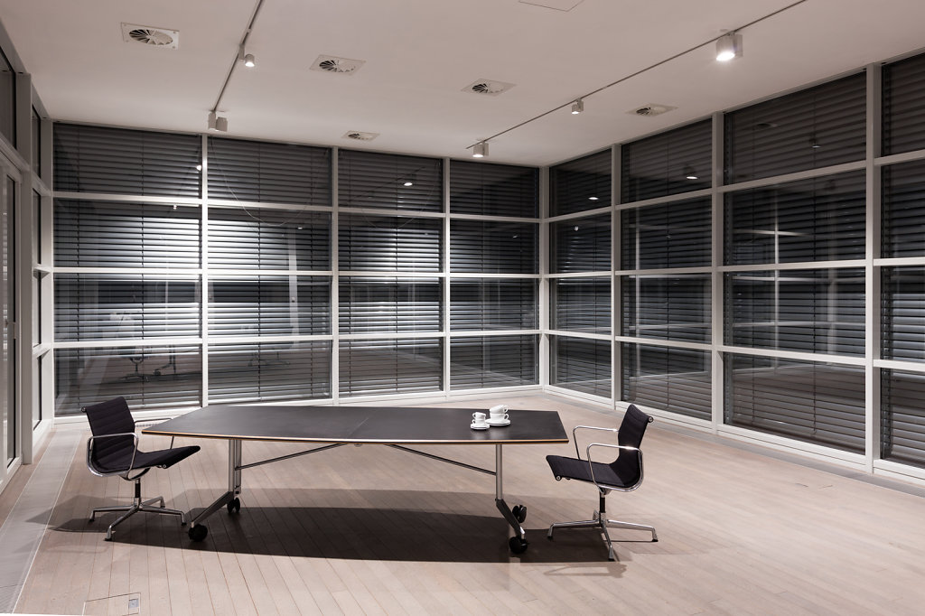 Meeting room, NOMOS Glashütte.