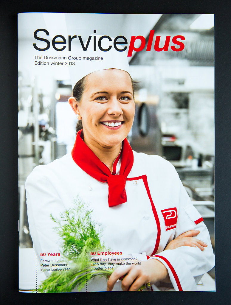 Cover Dussmann Group magazine