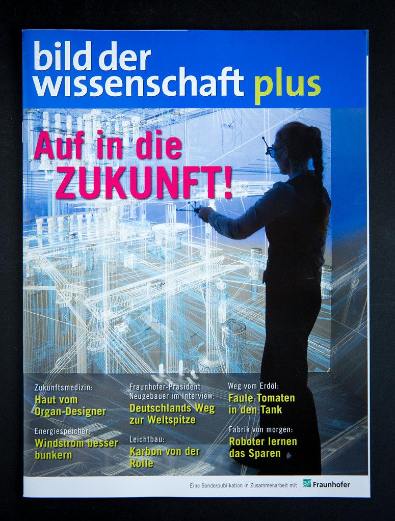Cover Bild der Wissenschaft.