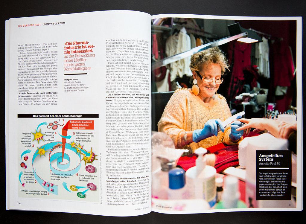 Focus Gesundheit magazine.