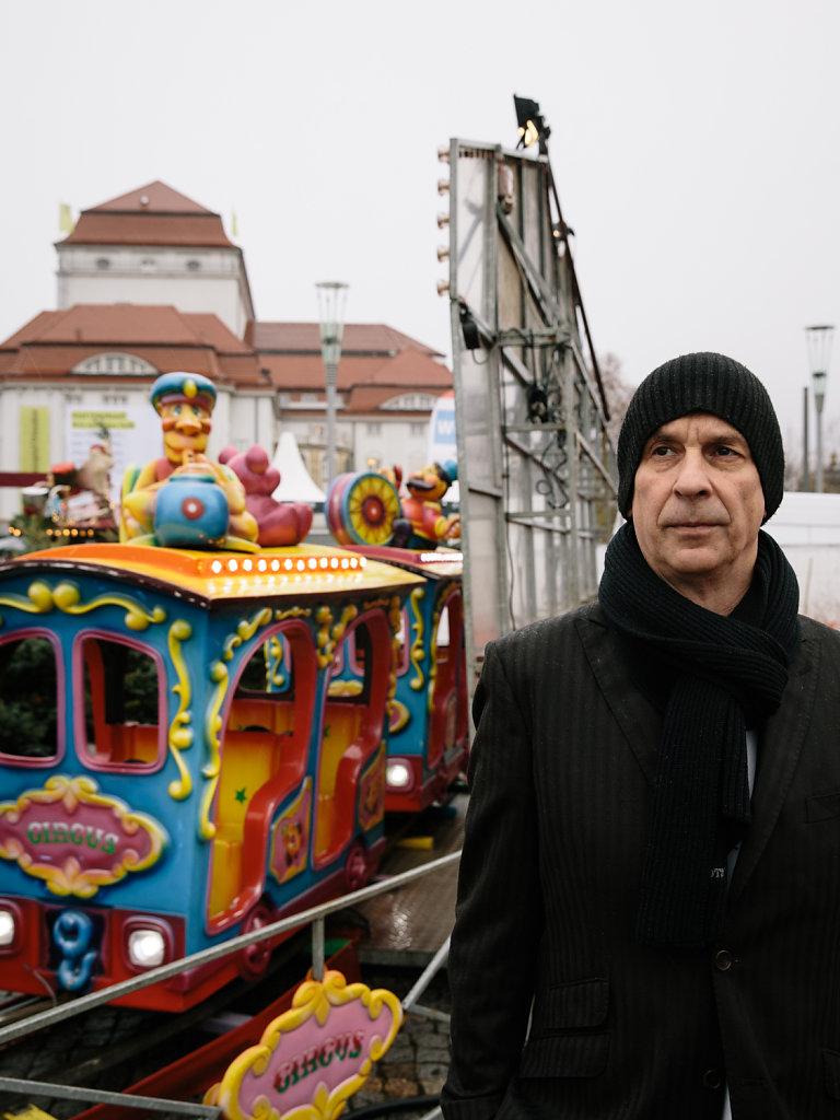 Volker Lösch, director. For DER SPIEGEL.