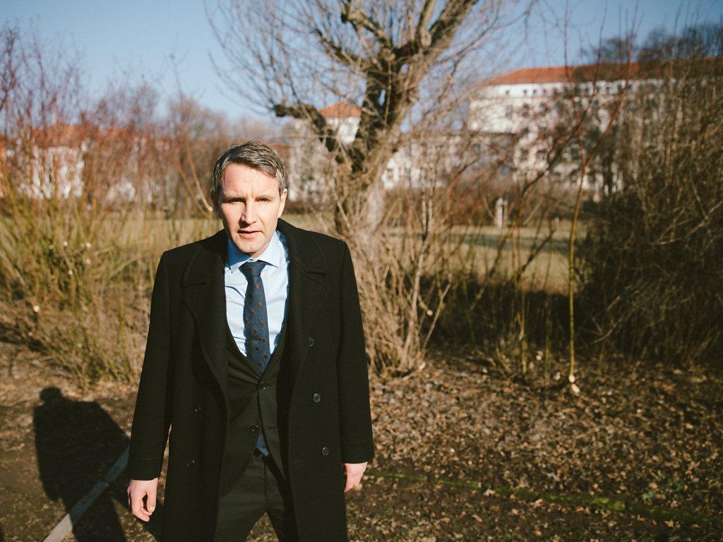 Björn Höcke, AfD. For DER SPIEGEL.