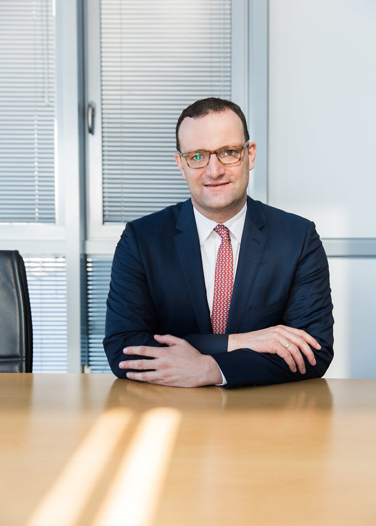 Jens Spahn, minister, for W&B