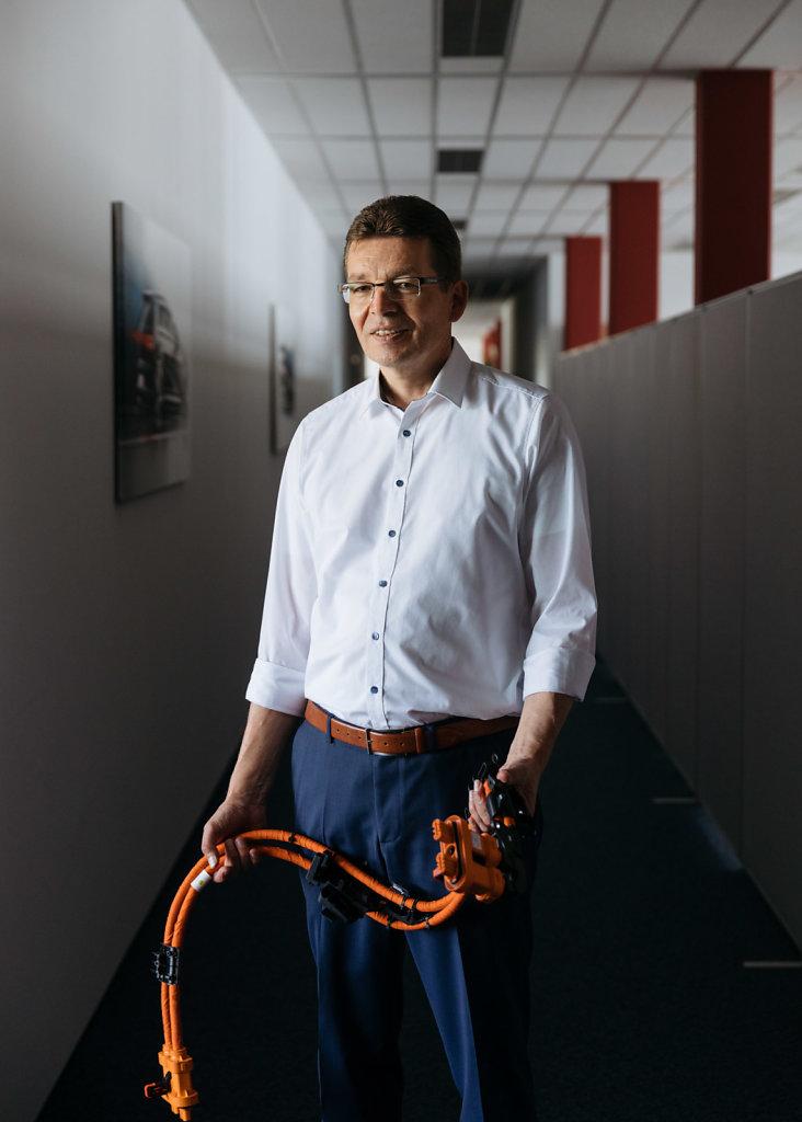 Reinhard de Vries, Volkswagen