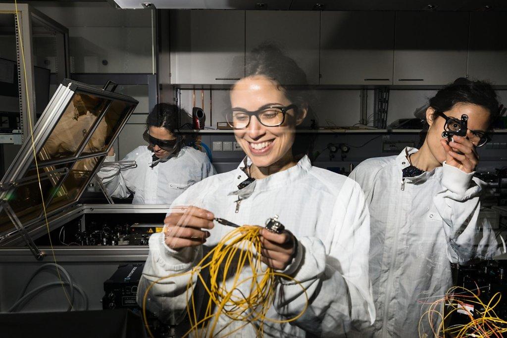 Fraunhofer Quantenphysik